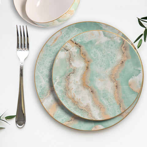 Surreal Luxury Majestic Earth Dinner Plates
