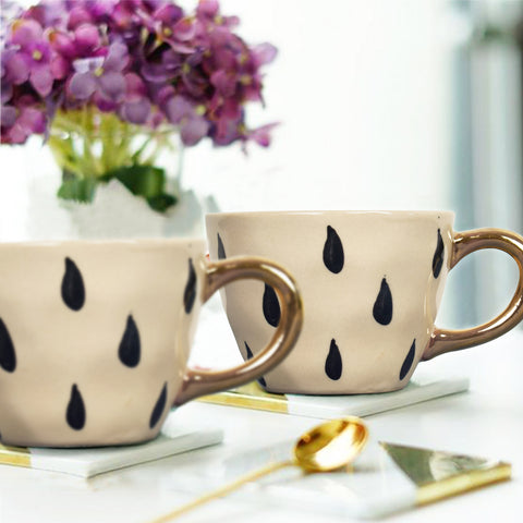 Bohemian Droplets Tea Cup