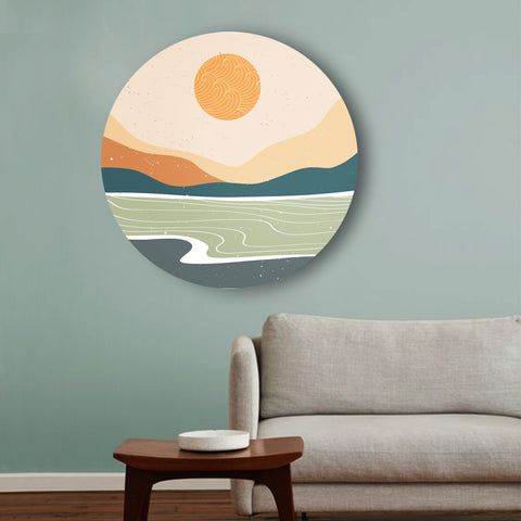 Among the Seas and Hills Canvas