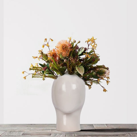 Surreal Flower Head Planter - The Artment