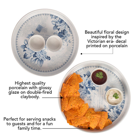 Kraak Floral Chip and Dip Set - The Artment