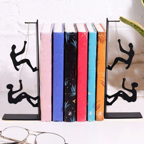 Climbing Man Bookend