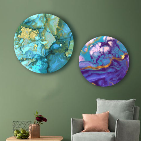 Enchanting Marble Canvas
