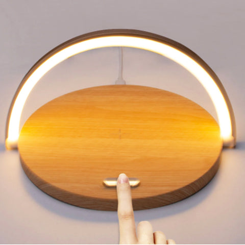 Modish Wireless Charger Table Lamp