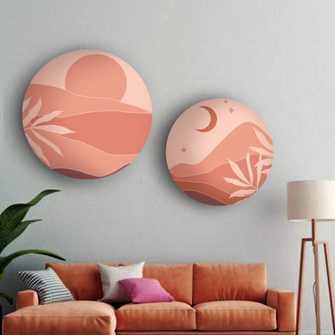Peachy Days and Nights Canvas