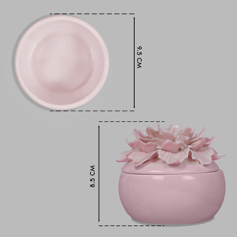 Flower Cap Trinket Cases