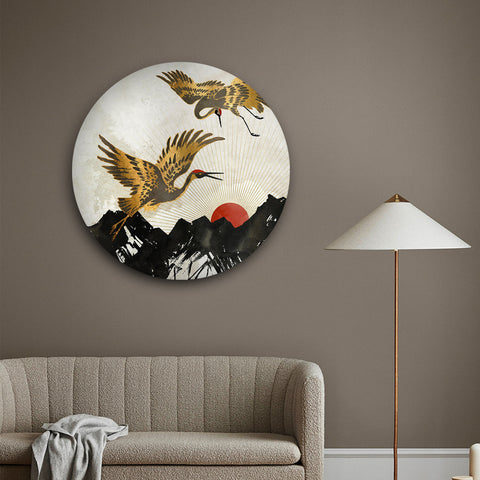 Mythical Swan Canvas