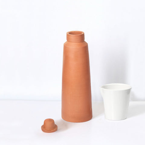 Rivaayat Terracotta Contemporary Water Bottle