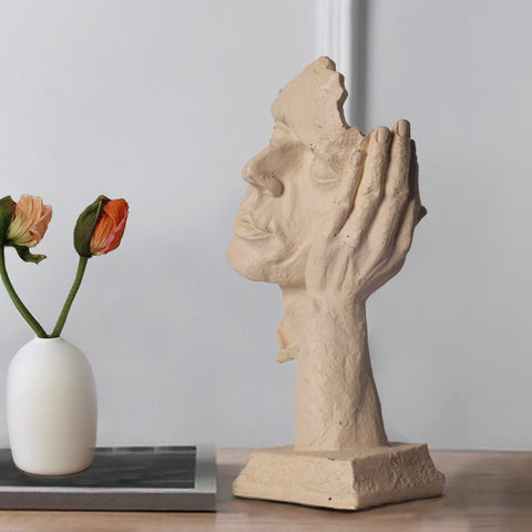 Surreal Thinker Table Accent - The Artment