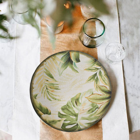 Tropical Trip Dinner Plate - The Artment