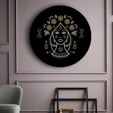 black-and-gold-zodiac-canvases-virgo
