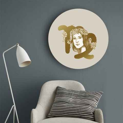 Golden Loyalty with Virgo Canvas