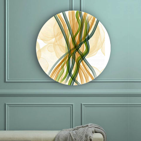 Abstract Strings Canvas