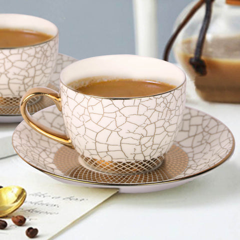 The Ritz Linee Tea Cup and Saucer Set