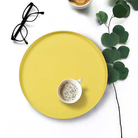 POP Yellow Serving Tray