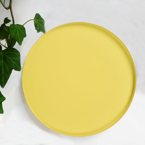 POP Yellow Serving Tray -The Artment
