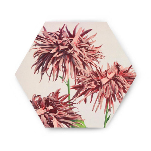 Garden of Blushing Flowers Canvas - The Artment