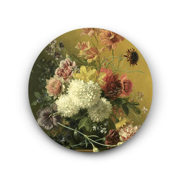 Flowers in an Imperial Style Canvas- The Artment