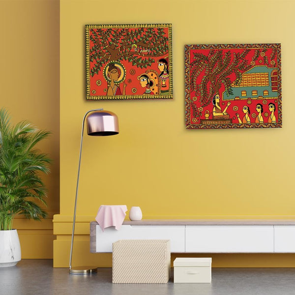 Under the Bodhi Tree Canvas - The Artment