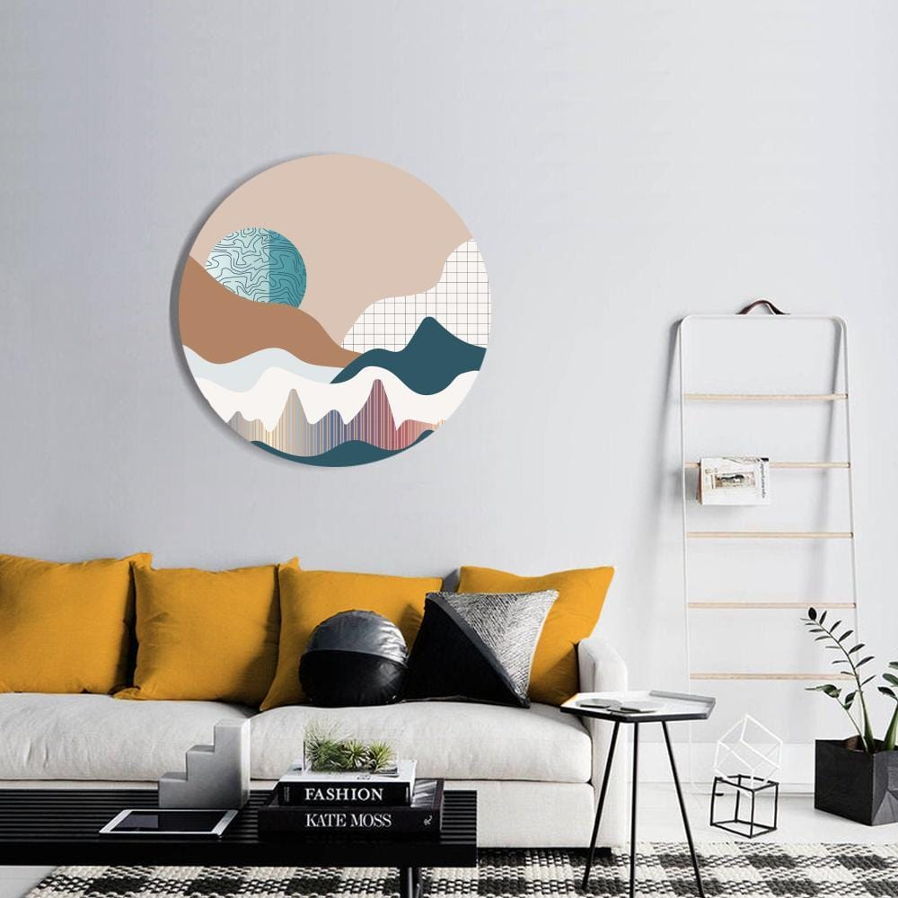 In a Pastel World Canvas - The Artment