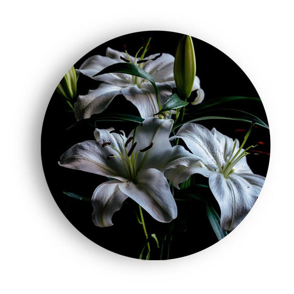 Dramatic Madonna Lily Canvas - The Artment