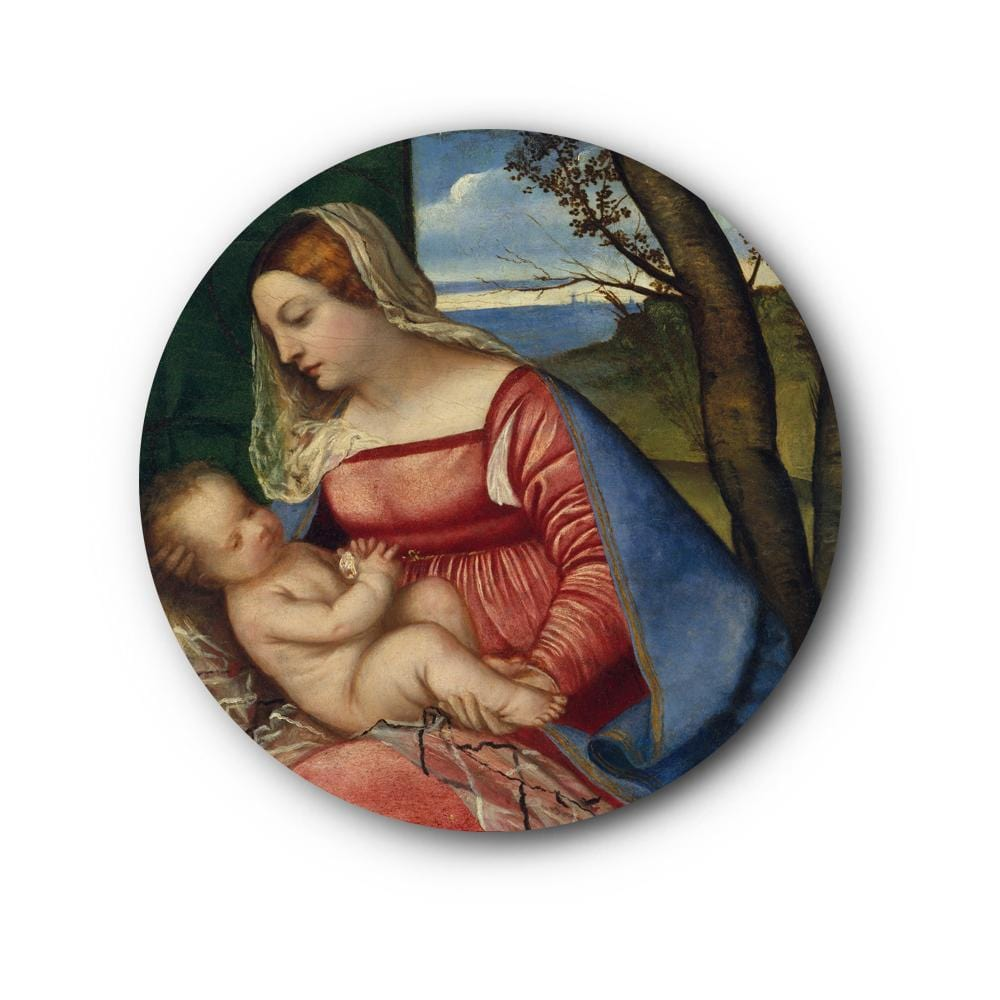 Baby Christ and Madonna Canvas - The Artment
