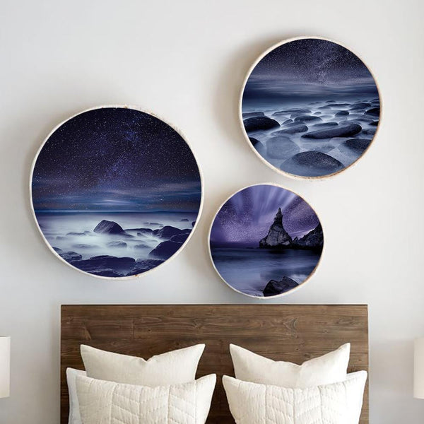 Lilac Night Canvas - The Artment