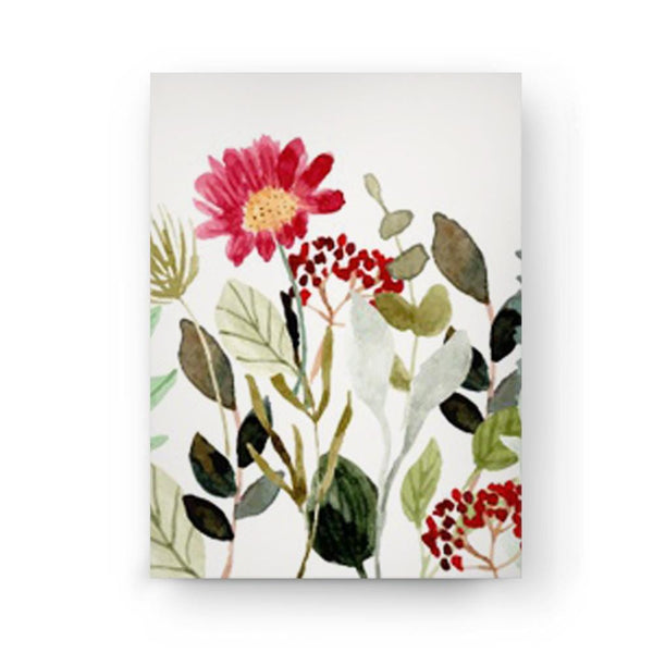 Surrounded by Bright Flowers Canvas - The Artment