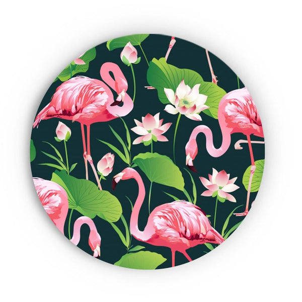 Feet Up Flamingos Canvas - The Artment