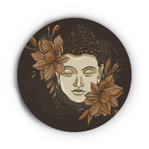 Purity of Gautam Buddha Canvas - The Artment