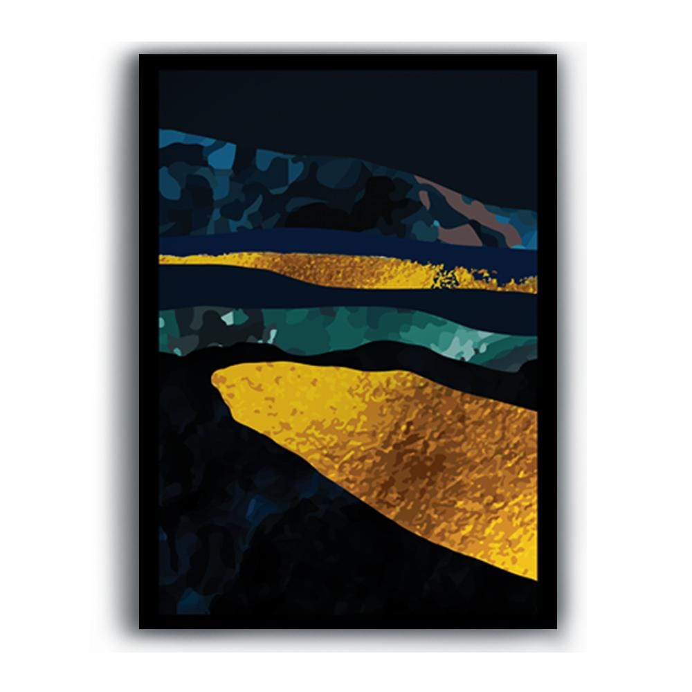 Golden King of the Sea Canvas - The Artment