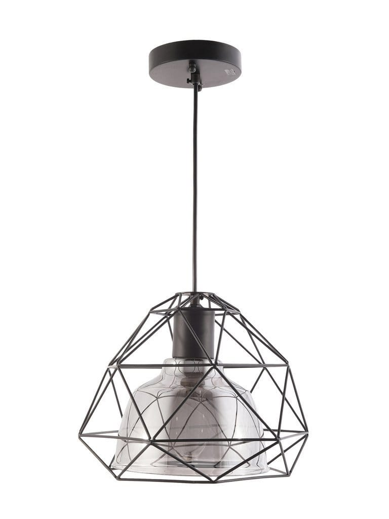 Caged Hanging Wall Lamp