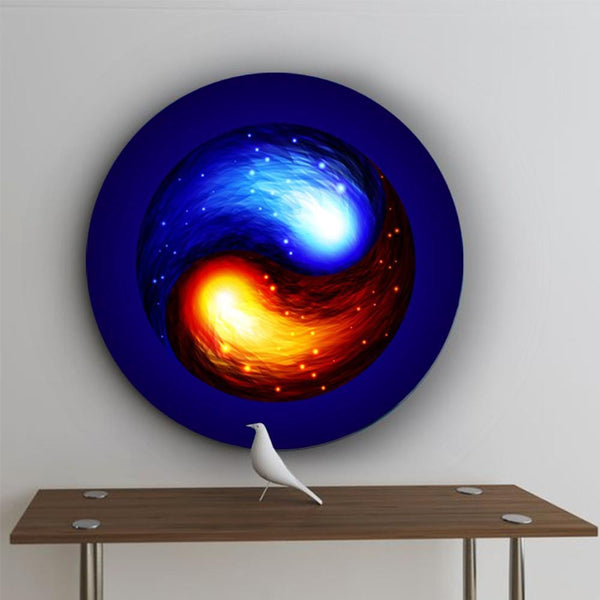 In the Spirit of Yin and Yang Canvas - The Artment