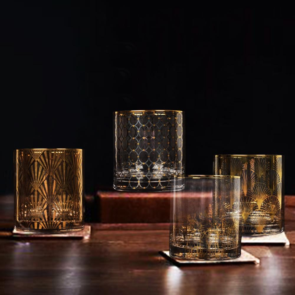 Nora Glass Set (Set of 4) - The Artment