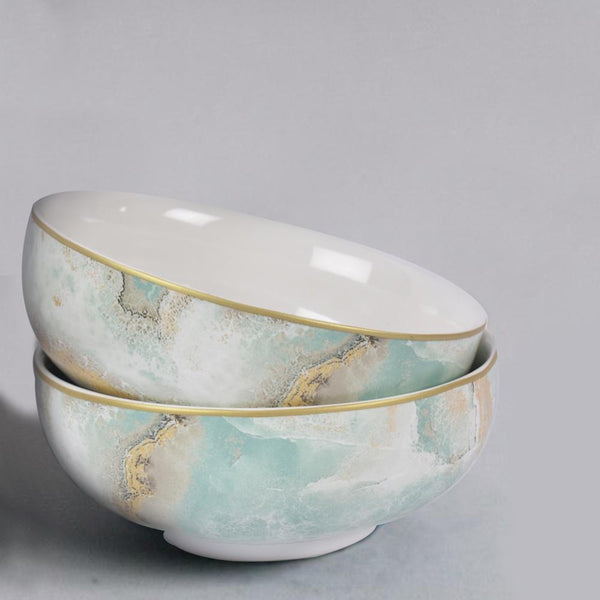 Surreal Luxury Majestic Earth Cereal Bowls (Set of 2) - The artment