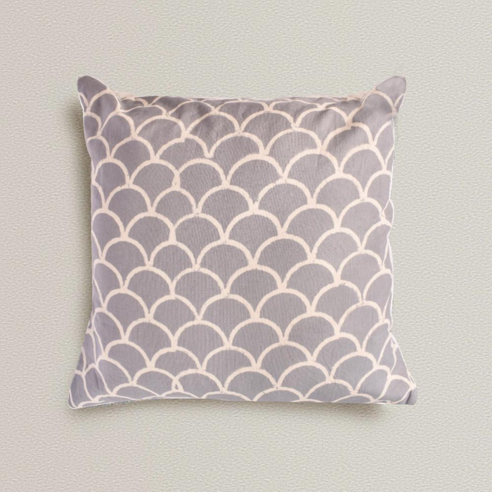 Bohemian Grey Scale Cotton Cushion Set - The artment