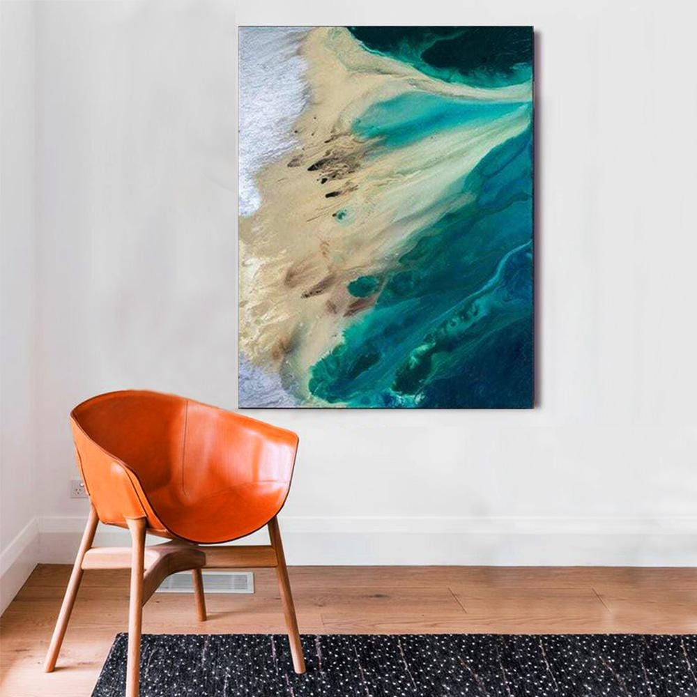 The Ebbing Sea in Acrylic Wall Art – The Artment