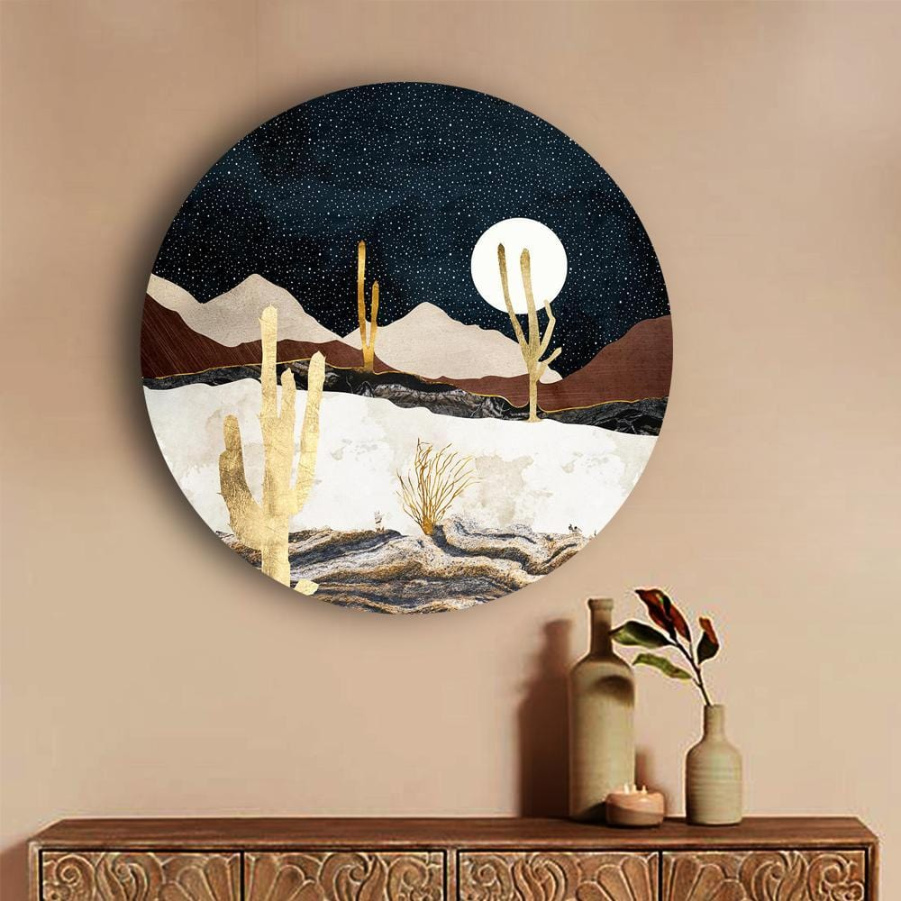 Dazzling Desert Vibes Canvas - The Artment