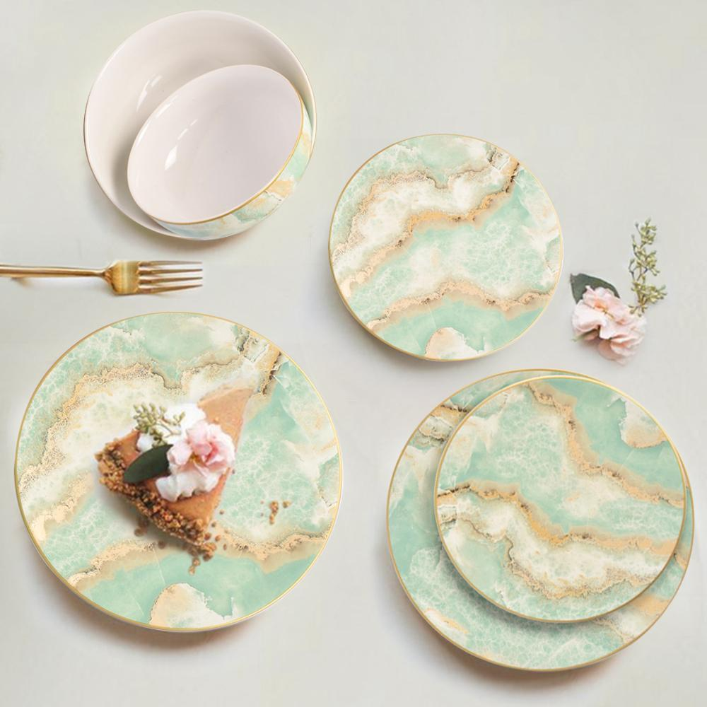 Surreal Majestic Earth Dinner Set - The artment
