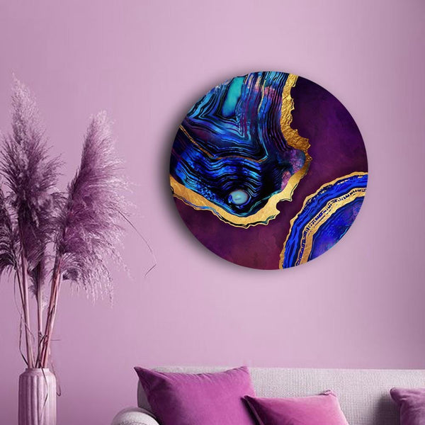 Vivid Marbling Canvas - The Artment