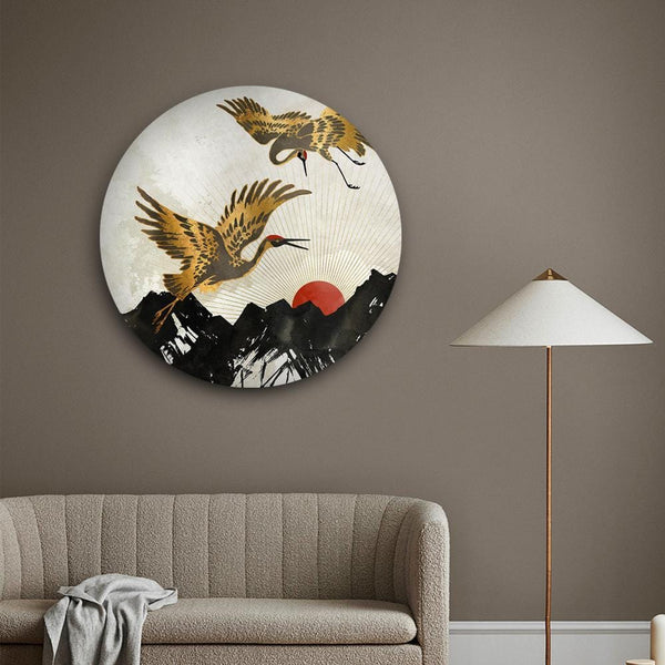 Mythical Swan Canvas - The Artment