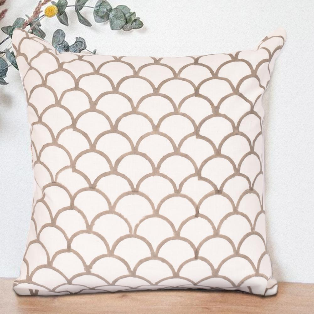 Bohemian Sepia Cotton Cushion Set - The artment