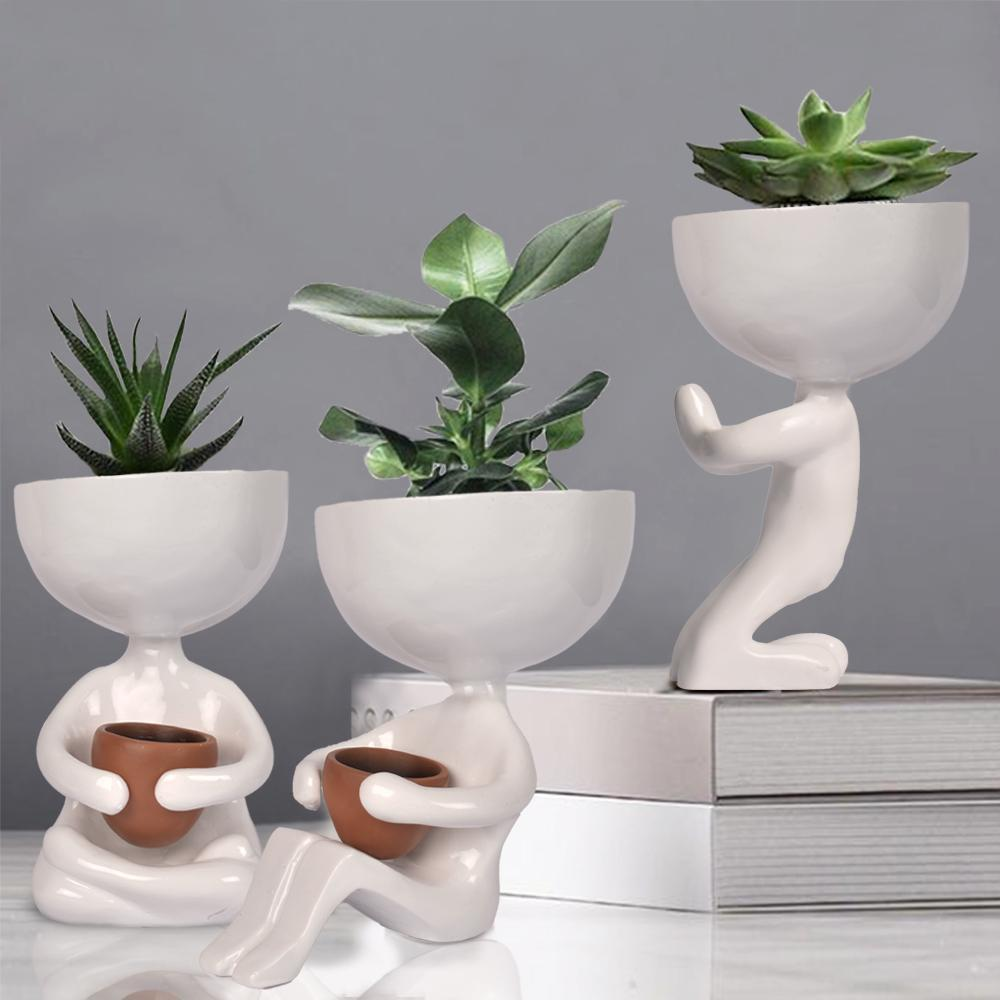Minimalist Yoga Desk Planters - The artment