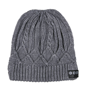 Cable Knit Bluetooth Beanie