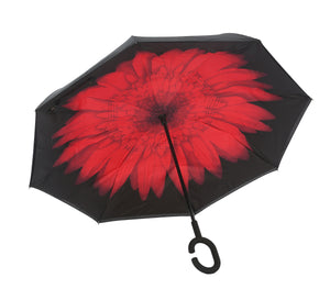 Wind-Proof, Reverse Opening, Upside Down Umbrella