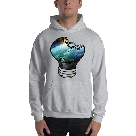 Space Bulb Hooded Sweatshirt