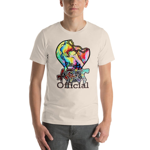 Art Bulb Short-Sleeve Unisex T-Shirt