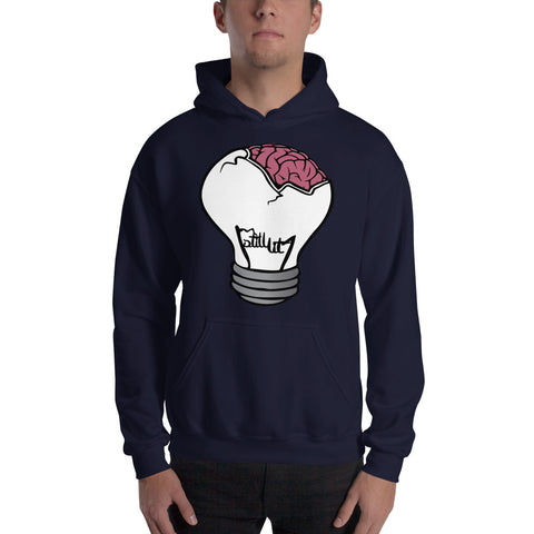 Brain Bulb Hooded Sweatshirt