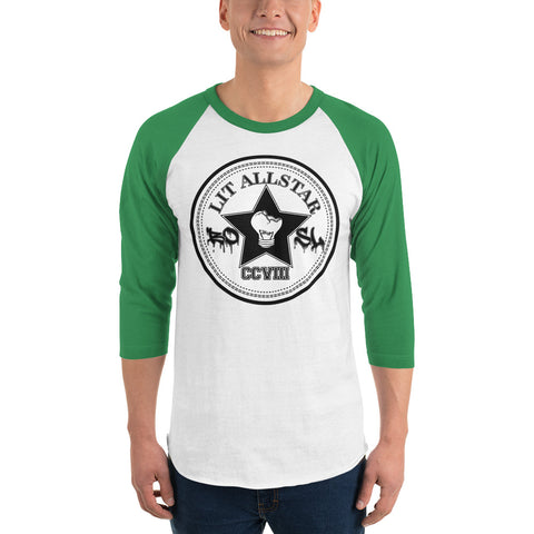 Lit All-star 3/4 sleeve raglan shirt