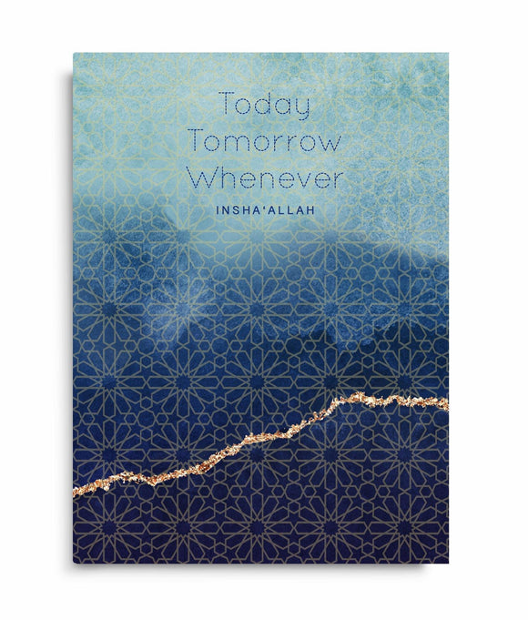 Today, tomorrow, whenever - Notebook - Silver Lining UK